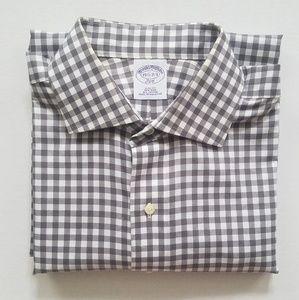Men's Brooks Brothers Gingham Dress Shirt Non-Iron
